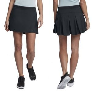 "NEW! Nike Women's Golf 14"" Flex Skort Black Shorts"
